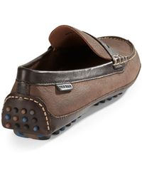 Cole Haan Grant Canoe Leather Moccasins