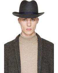 Robert Geller Gray Julius Fedora Hat