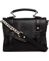 Asos Mini Stud Satchel Bag - Lyst