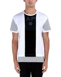 Andrea Pompilio Short Sleeve T-Shirt white - Lyst