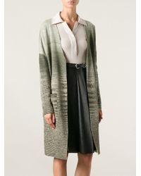 Missoni Long Cardi-coat - Lyst