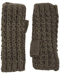 French Connection - Midnight Tassel Arm Warmers - Lyst