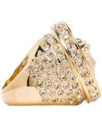 Versace Medusa Ring - Lyst