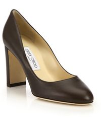 Jimmy Choo | Laria 85 Leather Pumps | Lyst