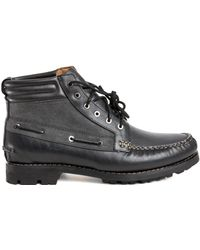 Rag & Bone By Timberland Boat Chukka In Black black - Lyst