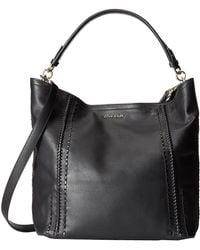 Cole Haan Nickson Double Strap Hobo black - Lyst