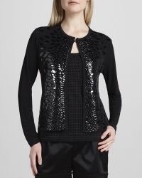 Grayse - Patent Leaves Jacket - Lyst