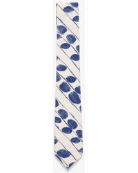 "The Hill-side - ""Endo Leaves"" Print Tie - Lyst"
