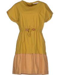Tela Short Dress - Lyst