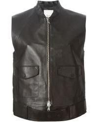 3.1 Phillip Lim Sleeveless Belted Jacket - Lyst