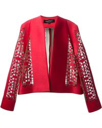 Paper London Canyon Laser Cut Jacket - Lyst