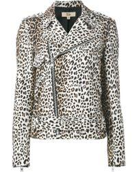 Rika - 'Irena' Leopard Print Jacket - Lyst