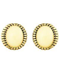 House Of Harlow 1960 Sunburst Stone Stud Earrings Ivory - Lyst