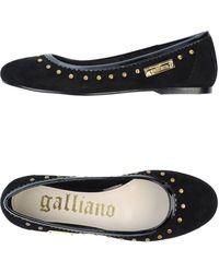 John Galliano Ballet Flats - Lyst