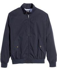 H&M Blue Short Jacket - Lyst