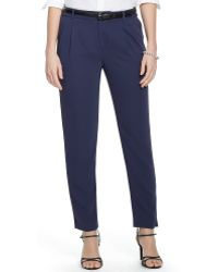 Ralph Lauren Pleated Skinny Pant - Lyst