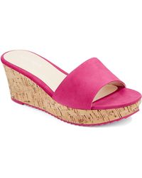 Nine West Confetty Cork Sandals - Lyst