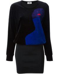 Sonia By Sonia Rykiel Velvet Dress - Lyst