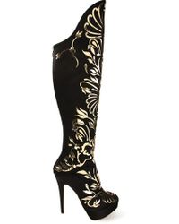 Charlotte Olympia 'Prosperity' Boots - Lyst