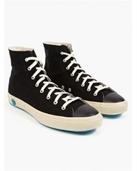 Shoes Like Pottery Mens Black High Top Sneakers - Lyst