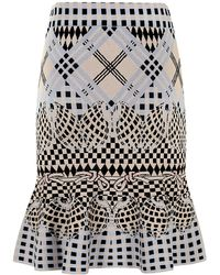 Temperley London Reef Fit And Flare Skirt - Lyst