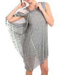 Yigal Azrouel Printed Vj Dress - Lyst