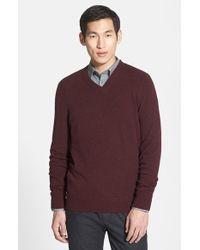 Vince Cashmere V-Neck Sweater - Lyst