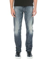 "Diesel Krayver 0814A Slim-Fit Tapered Jeans 30"" - For Men - Lyst"
