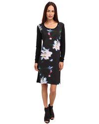 Paul Smith Floral Print Dress - Lyst