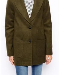 Asos Ultimate Slim Coat - Lyst