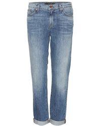 J Brand - 1214 Aidan Boyfriend Jeans - Lyst