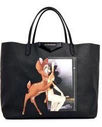 Givenchy Antigona Bambiprint Shopper - Lyst