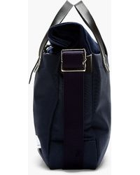 Nanamica - Navy Roll_top Briefcase - Lyst