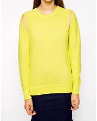 Antipodium Ignition Sweater - Yellow
