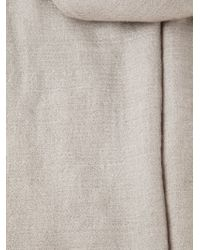 Rick Owens Frayed Edges Scarf - Lyst