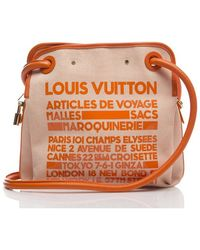 Louis Vuitton Preowned Limited Edition Articles De Voyage Bag - Lyst