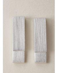 Ming Yu Wang - Sterling Silver Key Earrings - Lyst