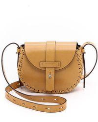 Michael Kors Claire Cross Body Bag - Peanut - Lyst