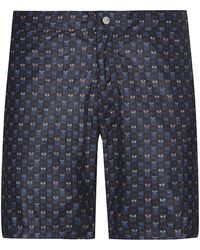 Fendi Creature Print Swim Shorts - Lyst