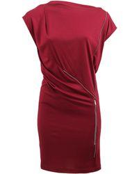 Stella McCartney Zip Detail Dress - Lyst