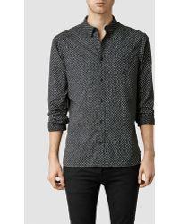 AllSaints Cartridge Shirt - Lyst