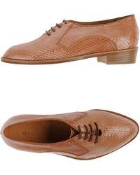 Les Prairies de Paris Lace-Up Shoes - Lyst
