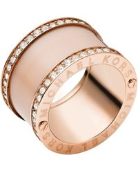 Michael Kors - Blush Barrel Ring - Lyst