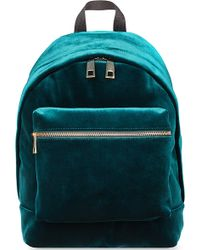 Sandro Avril Medium Backpack Green - Lyst