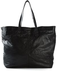 Zadig & Voltaire 'Mick Xl Biker' Shopping Tote - Lyst