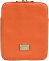 MICHAEL Michael Kors Orange Hitech Accessory - Lyst