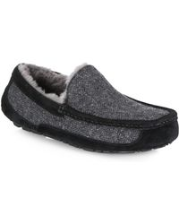 Ugg | Ascot Tweed Slippers | Lyst