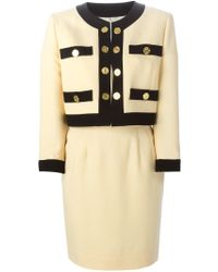 Moschino - Golden Coins Skirt Suit - Lyst