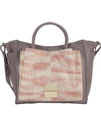 See By Chloé Crocodileembossed Nellie Tote - Lyst