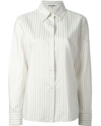 Jil Sander Vintage Striped Shirt - Lyst